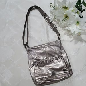 The Sak Metallic Crossbody Purse
